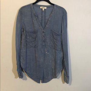 William Rast button down shirt size M